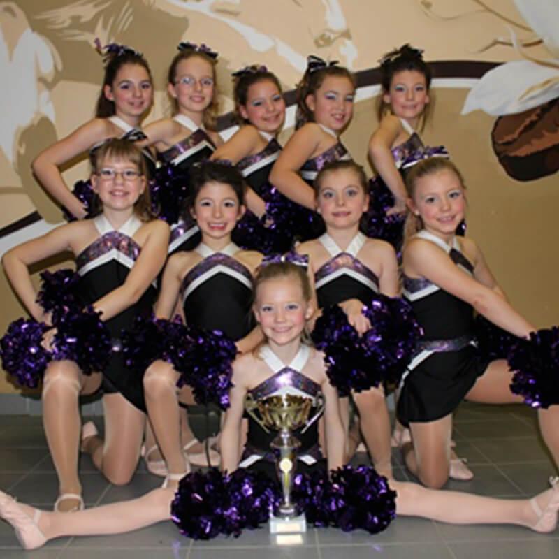 Magic Legs Cheerleader